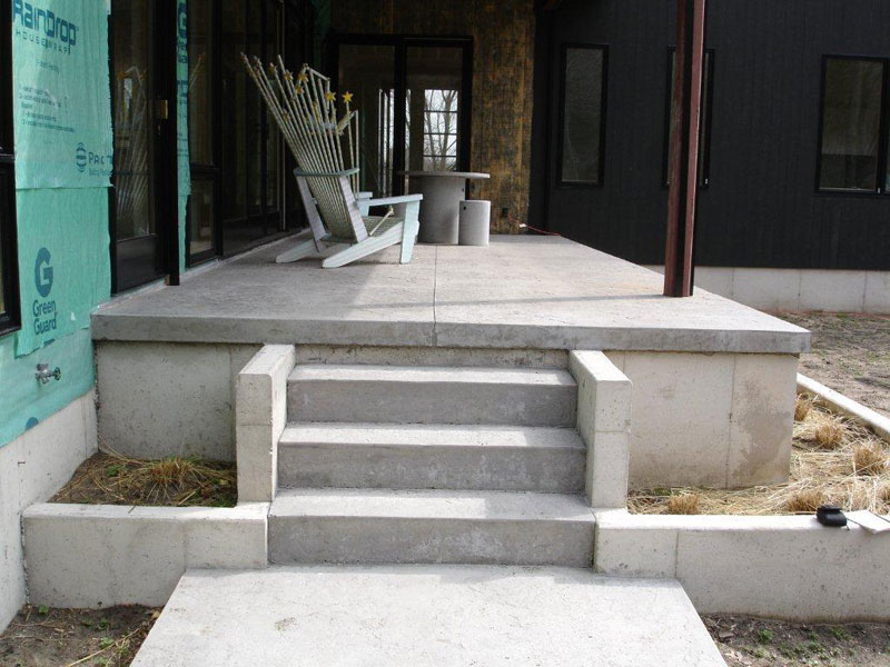 How To Build Concrete Patios  The Spruce